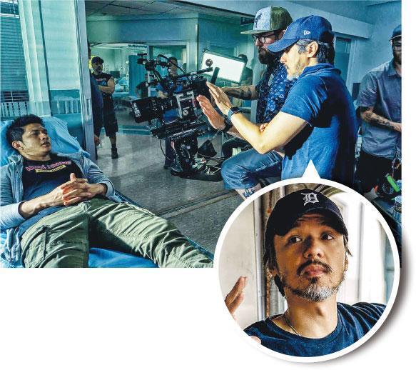 冯德伦执导美剧《五行刺客》 拍动作场面拳拳到肉