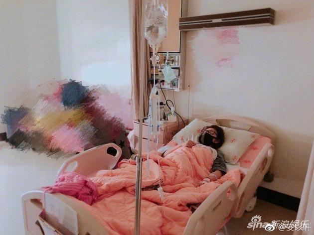 安以轩日前传出子宫外孕住院。