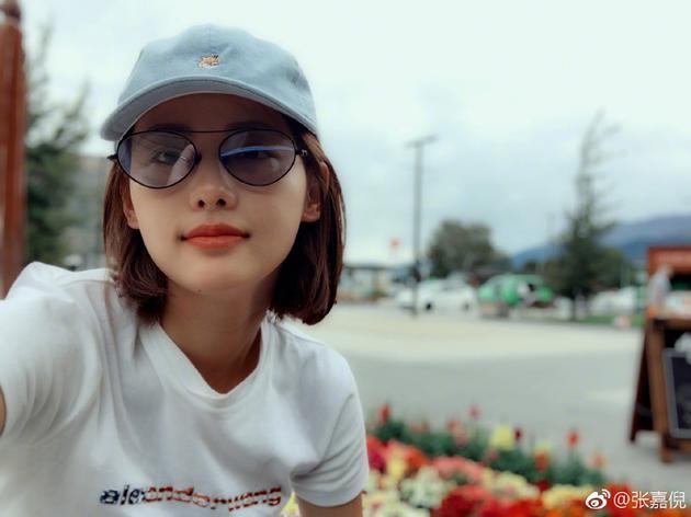 张嘉倪自拍