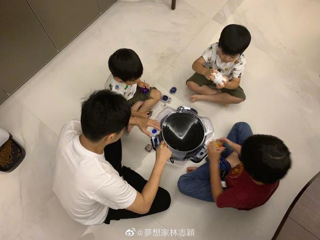 林志穎與兒子