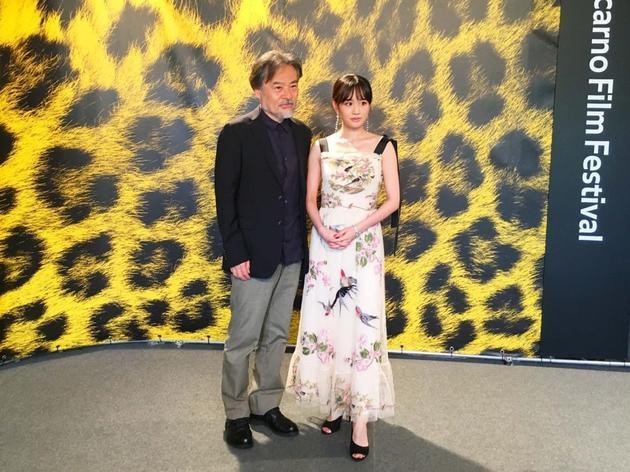 日本电影参加洛迦诺国际电影节 前田敦子出席活动