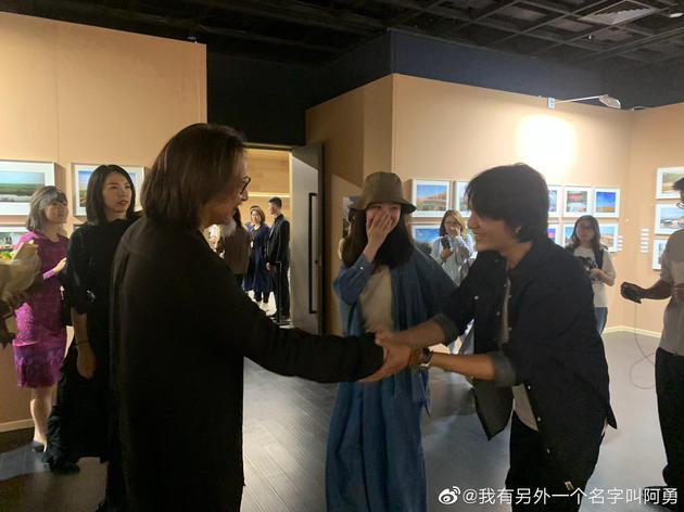 陳坤、倪妮和賴聲川