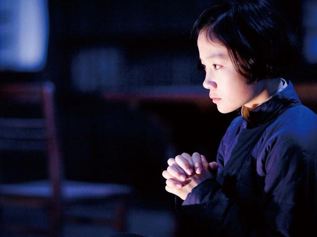 張歆怡在《金陵十三釵》中飾演女學生孟書娟。