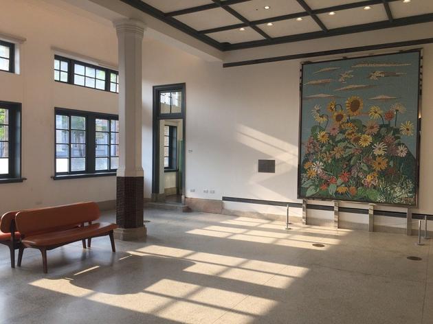 臺南美術館一館內部圖