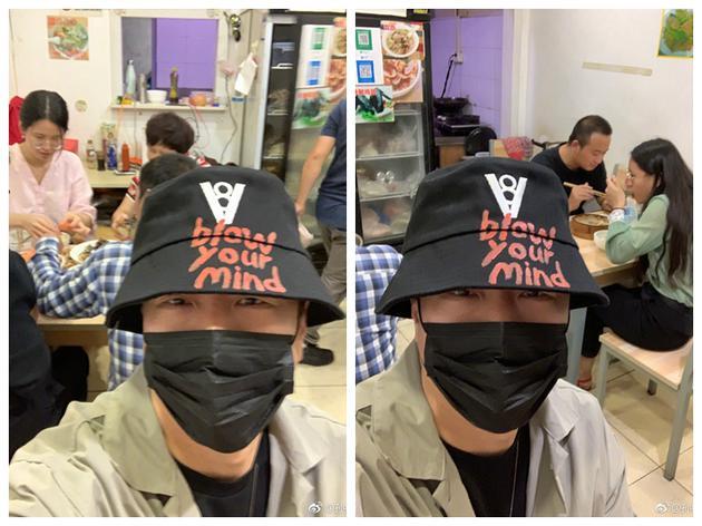 孫紅雷說,他現在靠漁夫帽和口罩可以出門逛一天。