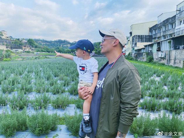 余文乐与儿子