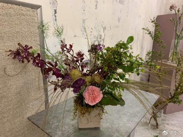 小s给婆婆做的花束
