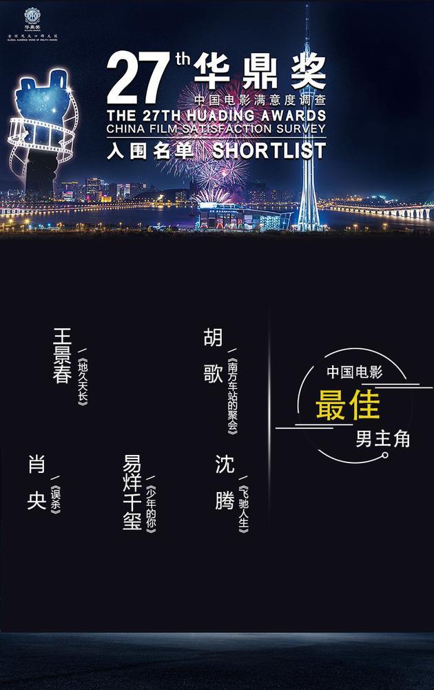 第27届华鼎奖十月举办 《哪吒》《少年》竞逐最佳