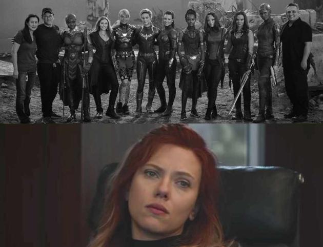 """漫威釋出《復聯4》女英雄集結幕后照,獨缺""""黑寡婦"""",讓推特上許多影迷大為不滿。"""