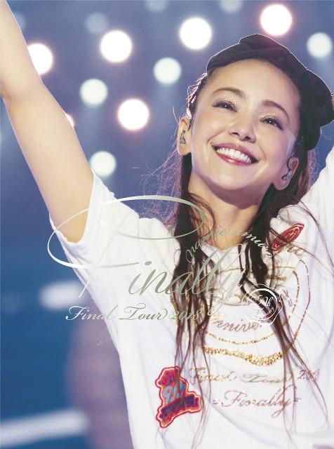 安室奈美惠演唱会dvd发行 首日销量破纪录夺冠