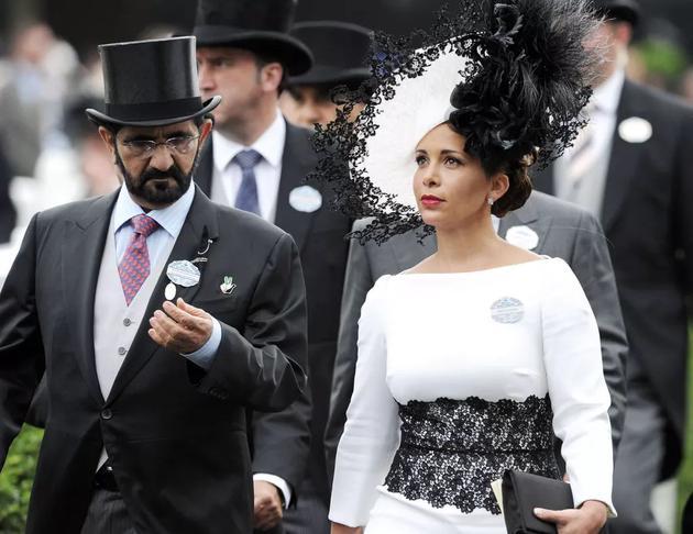迪拜王妃携巨款带孩子出逃 丈夫赴英与她对簿公堂