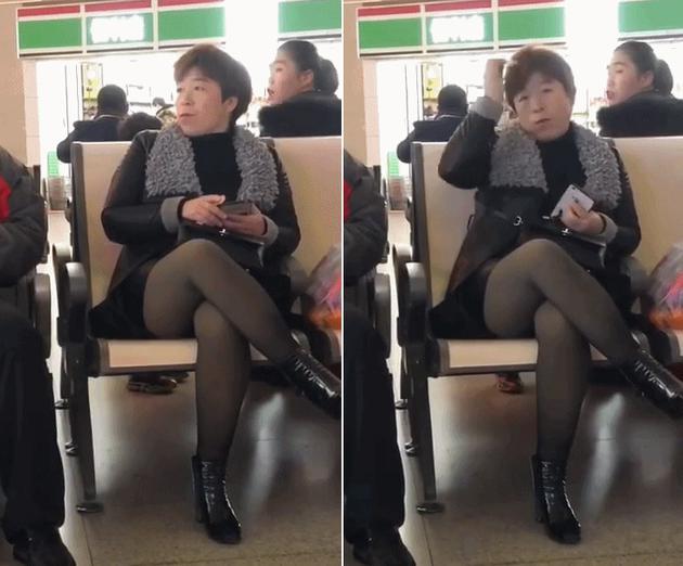 """候车室惊现""""女版黄渤""""!本尊上线回应令网友笑翻"""