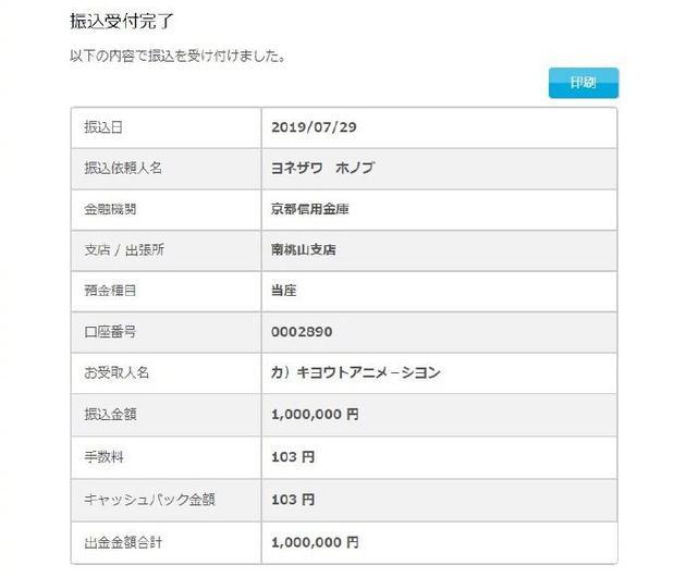 《冰菓》原作者米泽穗信给京阿尼捐赠100万日元