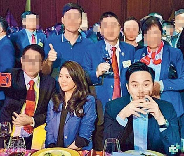 袁詠儀與張智霖前往內地出席晚宴