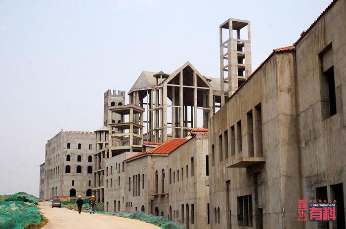 建设中的华谊长沙小镇