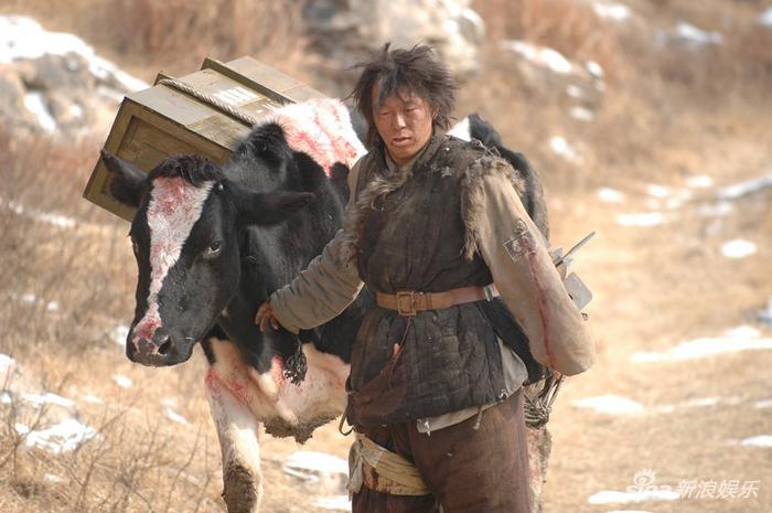 黄渤在《斗牛》中