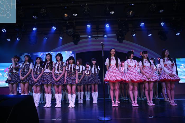SNH48第一届总选举现场