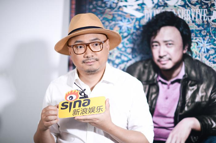 徐峥对话新浪娱乐(摄影/王博)