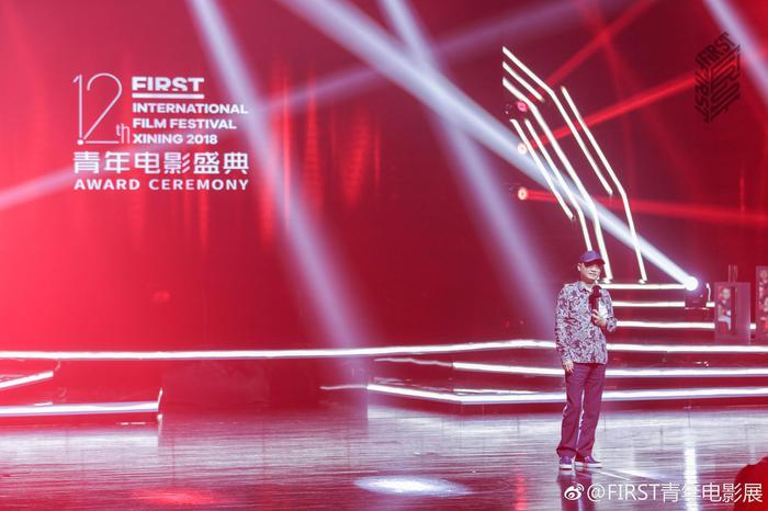 崔永元在FIRST青年电影盛典现场
