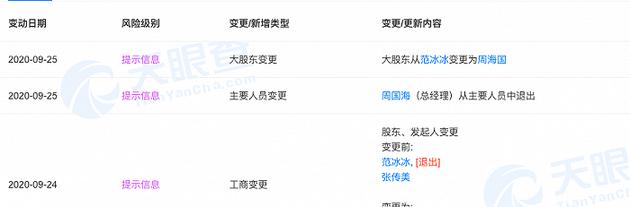 范冰冰退出无锡爱美神公司 唐德影视易主浙江广电
