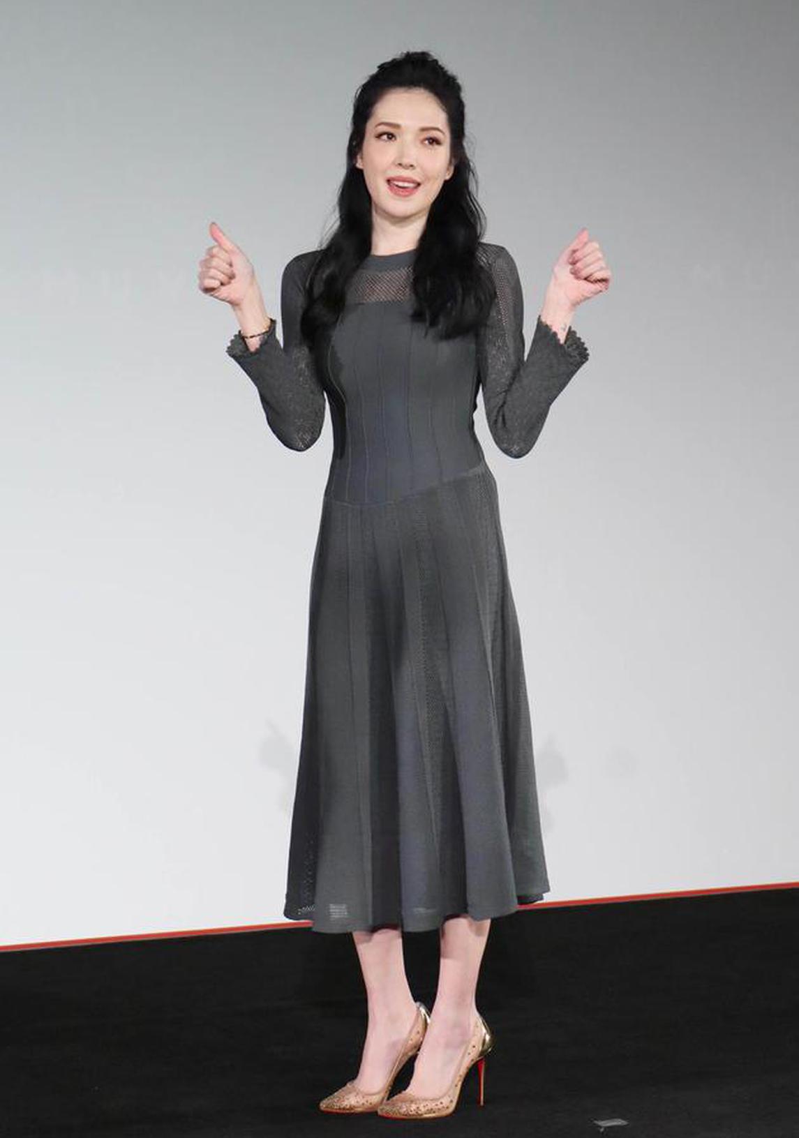 许玮甯在台北出席活动
