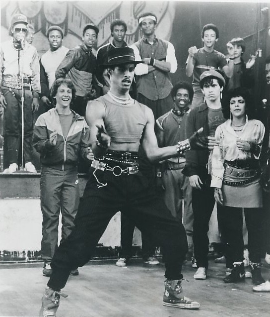 80年代,美国电影《霹雳舞》剧照