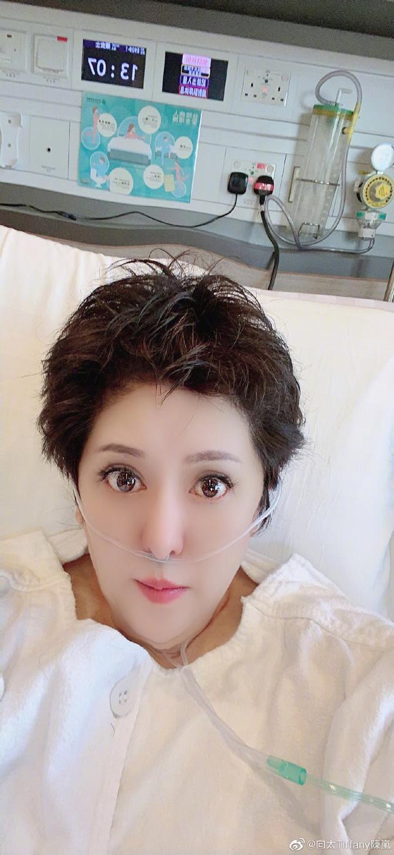 向太陈岚因心梗入院抢救后 首次发布近况