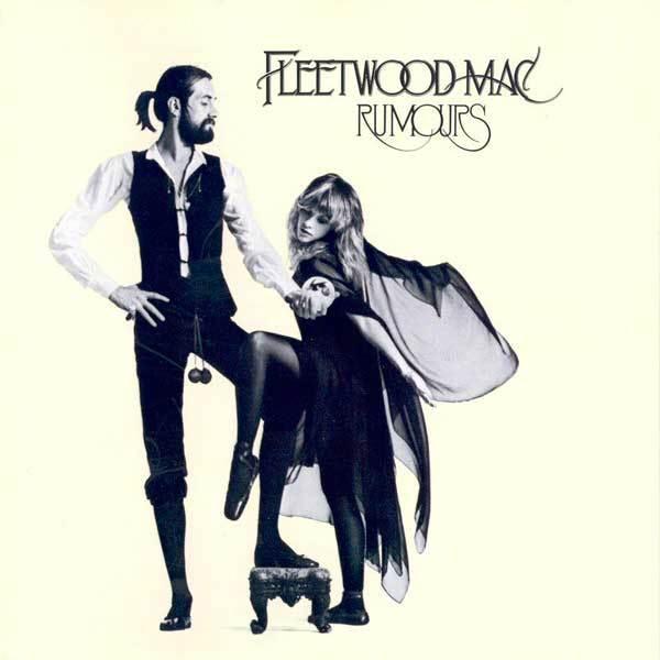 Fleetwood Mac樂隊1977年的專輯《Rumors》的封面圖