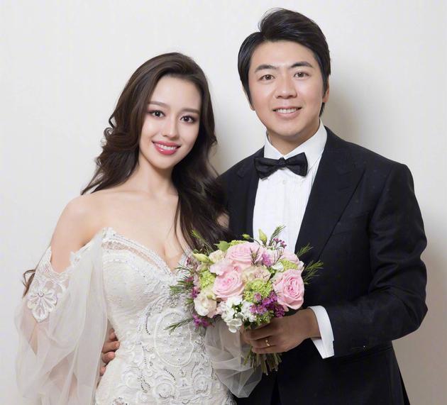 郎朗和妻子吉娜
