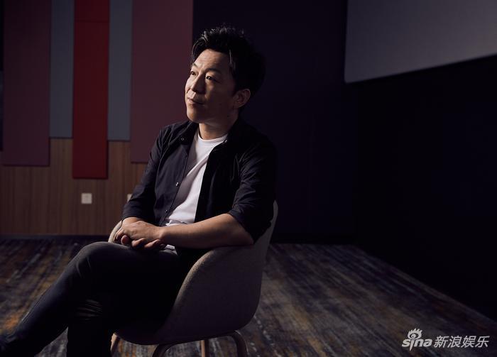 黄渤对话新浪娱乐(摄影/宫德辉)
