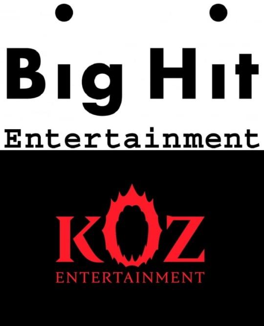 韩国BIGHIT公司将收购KOZ娱乐 方时赫与Zico联手