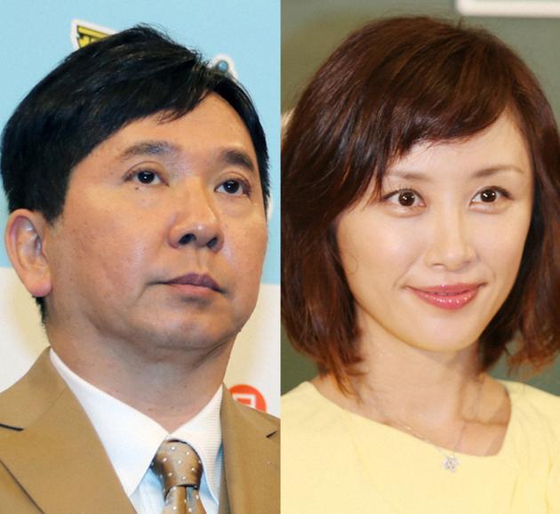 田中裕二和妻子山口萌资料图