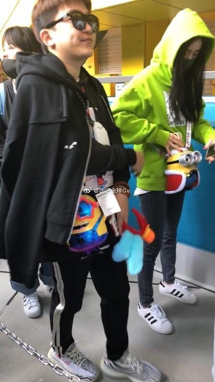 杨幂张大大同游日本