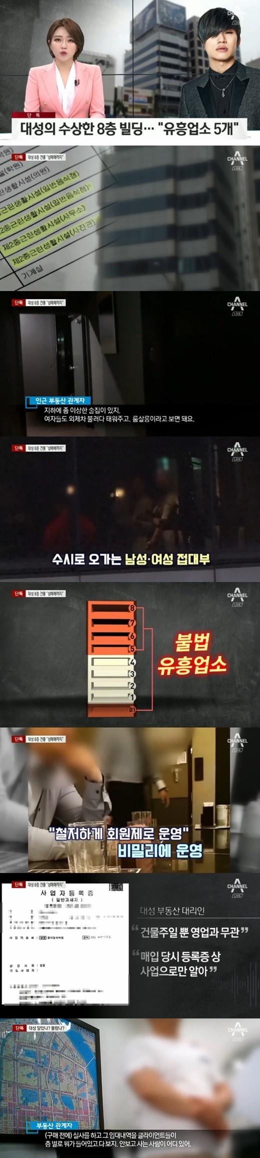 BIGBANG成员姜大声被爆名下房产内有非法娱乐场所