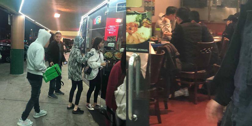 网友洛杉矶偶遇王思聪 获两美女相伴用餐
