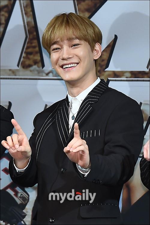 韩国男团EXO成员CHEN