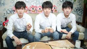 TFBOYS分享成年感受 亲手包饺子