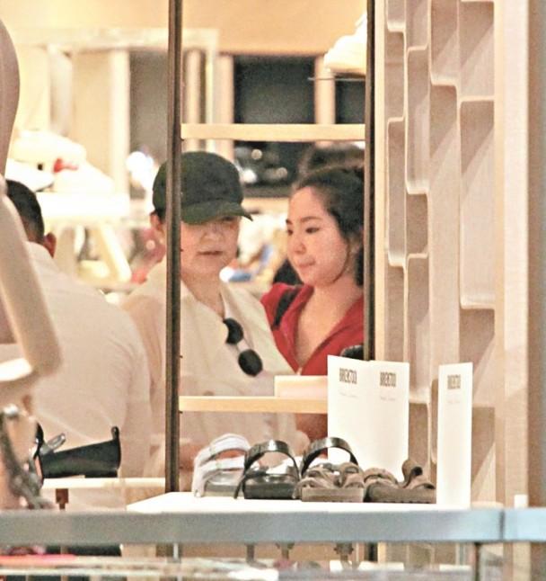 林青霞与女儿