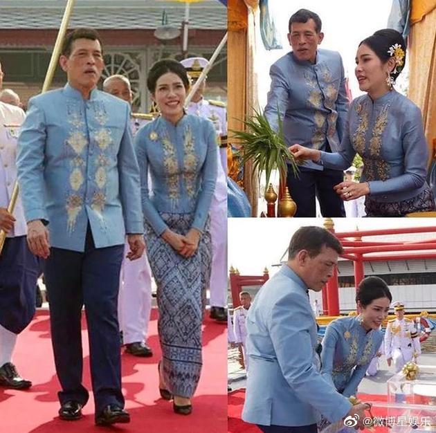 泰国国王为贵妃诗妮娜举行生日放生仪式