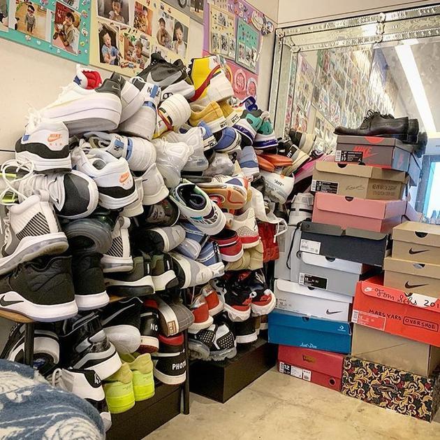 陈建州收纳运动鞋