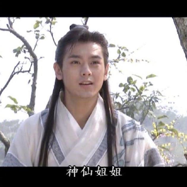 林志颖晒《天龙八部》剧照 段誉王语嫣青春笑容甜