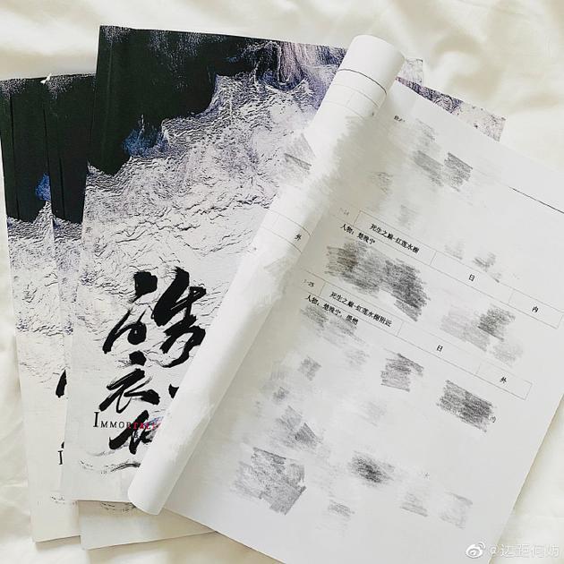 《皓衣行》编剧回应陈瑶加戏传闻:不该有的都没