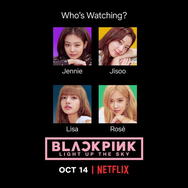 BLACKPINK纪录片10月将在Netflix上线