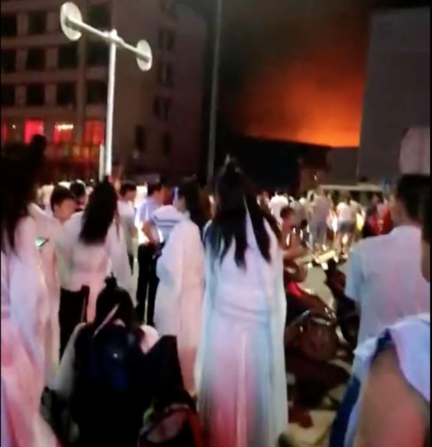 《陈情令》摄影棚发生火灾【北京赛车群】