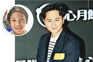 儿子魔童(圆图)现在才11岁,张智霖已想定7年后做爷爷,似乎很想抱孙了。