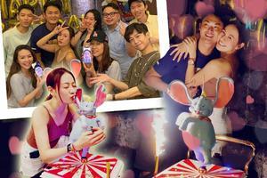 江若琳32岁生日!萧润邦送小飞象蛋糕给老婆