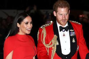 曝哈里梅根脱离英国皇室原因 疑与儿子阿奇有关