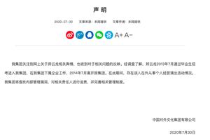 中国对外文化集团:郑云龙在职期间从事个人演出