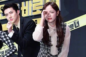 传EXO吴世勋与金世正恋爱 女方否认:只节目中默契