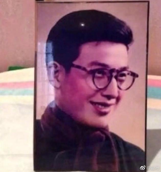 赵薇爸爸年轻时照片
